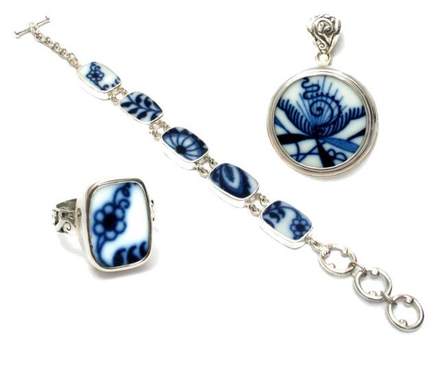 Broken_China_Jewelry_Blue_Danube