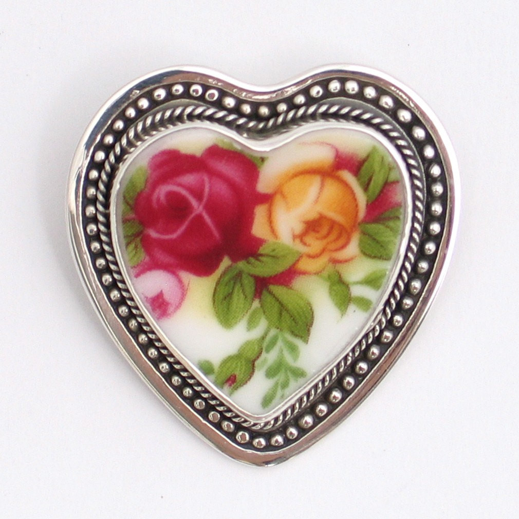 Broken-China-Jewelry-Old-Country-Roses-Rose-Pendant-Brooch